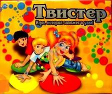 Настольная  игра Твистер, 3 вида Март.