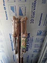 Карнизы трубчатые металлопластиковые для штор и гардин 1,2 м, Одинарный, Дуб золотой