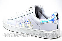 Кроссовки женские в стиле Adidas Superstar Original Foundation Schuhe, фото 2