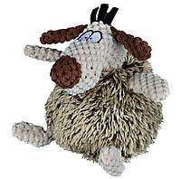 Игрушка Trixie Dog для собак плюшевая, собака пушистая, 15 см
