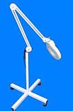 Лампа лупа підлогові на колесах на штативі з люмінесцентним підсвічуванням ., фото 4