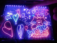 Майстер клас з малювання неоновими маркерами