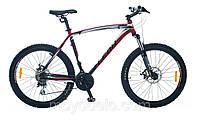 Велосипед горный LEON HT 70 (черно-красный)