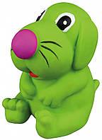 Игрушка Trixie Dog для собак латексная, собака с пищалкой, 8 см