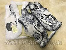 Безрукавка белая детская из натуральной овечий шерсти