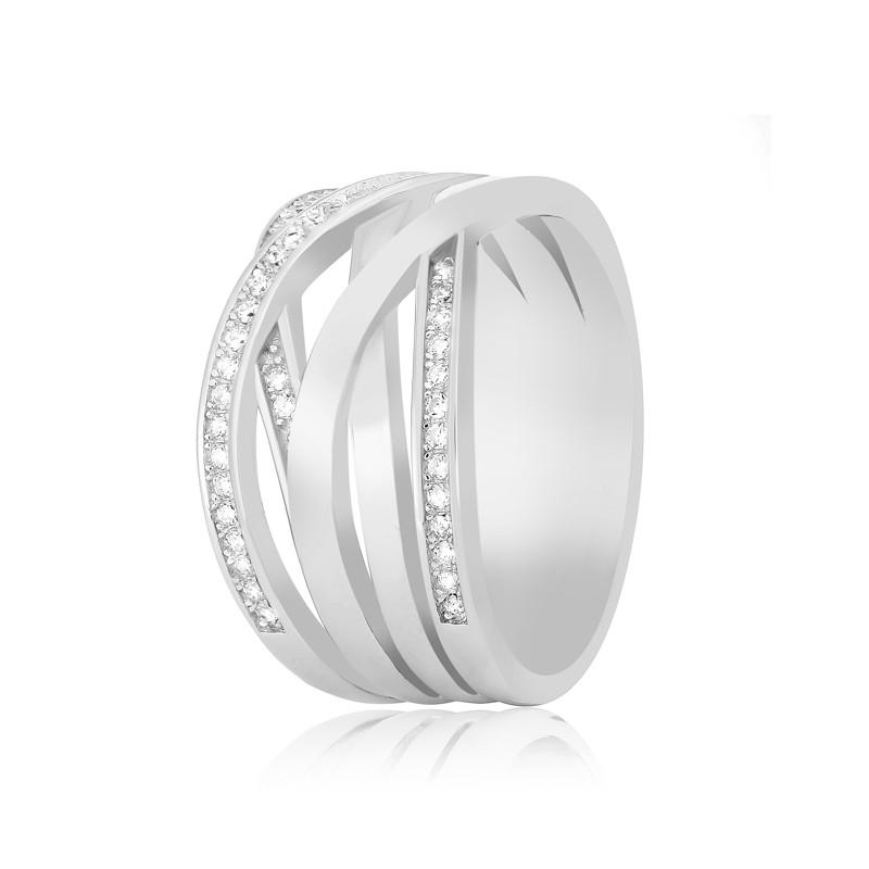"""Серебряное кольцо с камнями """"192"""""""