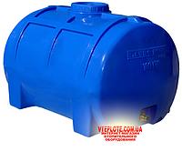 Емкость горизонтальная однослойная 200 литров (85х58х55)