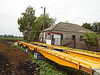 Весы автомобильные 60 тонн 16 метров для зерновоза