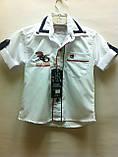Рубашки короткий рукав, одежда для мальчиков 1-6 лет, фото 3
