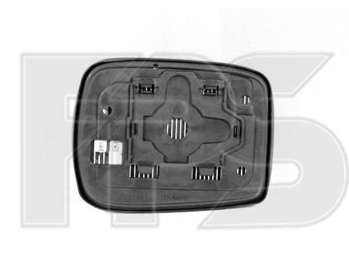 Вкладыш бокового зеркала Honda Accord 8 08-  правый, с квадратным крепежом (VIEW MAX) FP 3016 M12 , фото 2
