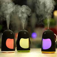 Увлажнитель / ночник воздуха в виде жучка  с Led подсветкой меняющей цвет  работает от USB кабеля.