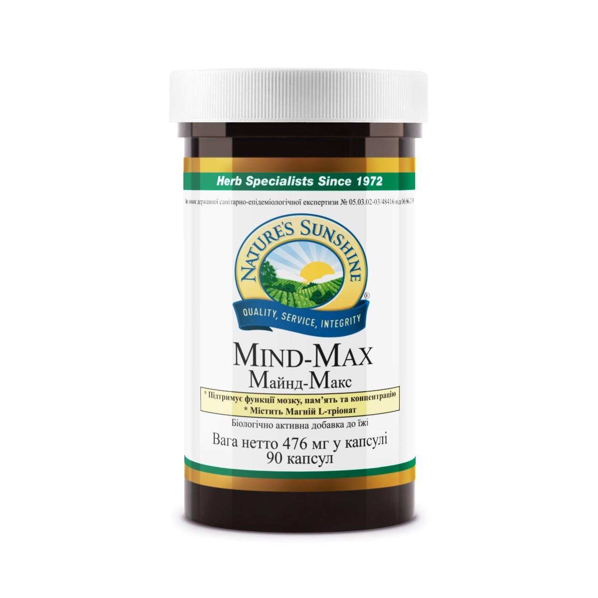 МАЙНД-МАКС бад НСП лечение сосудов головы, при атеросклерозе, улучшение когнитивных способностей.
