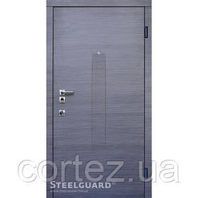 Входная дверь ТМ Стилгард Barca двухцветная