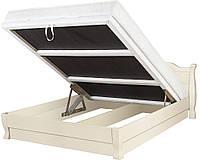 Кровать АННА ЭЛЕГАНТ с подъемным механизмом, деревянная кровать из сосны, Da-Kas (Да-Кас)