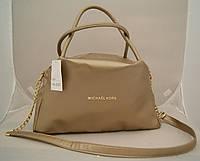 Женская сумка Michael Kors, золото Майкл Корс MK