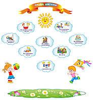 """Стенды для детского сада """"Права ребенка"""""""