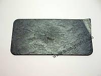 """Тарелка пластиковая """"Природный камень """"Графит"""" 30*14 см"""