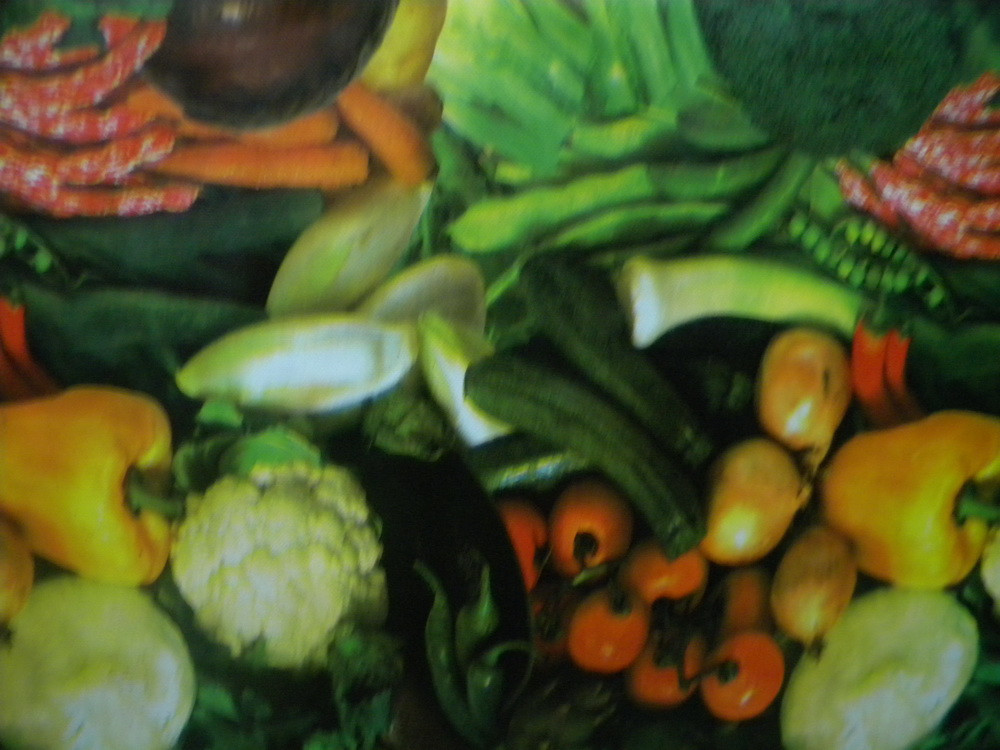 Клеенка Овощи 1м,