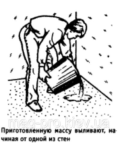 Описание: анесение финишного покрытия