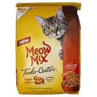 Корм MEOW MIX Centers Salmon 6,12кг филе лосось + курица