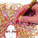 Олівець кольоровий, магічний, товстий, 1 шт., фото 3