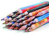 Олівець кольоровий, магічний, товстий, 1 шт., фото 2