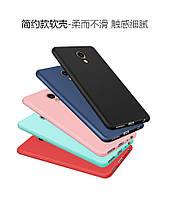 Чехлы для Meizu M5 Note силиконовые матовые все цвета