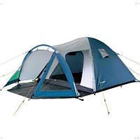 Туристическая/кемпинговая палатка трехместная King Camp Weekend 3, двухслойная 3-местная