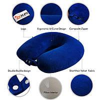Ортопедическая дорожная подушка для шеи OXA Memory, фото 1