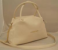 Женская сумка Michael Kors, бежевая Майкл Корс MK, фото 1