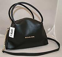 Женская сумка Michael Kors, чёрная Майкл Корс MK