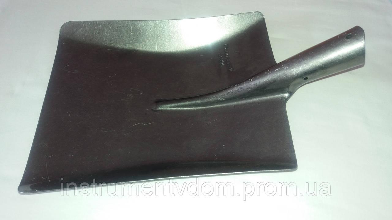 Лопата совковая (рельсовая сталь)
