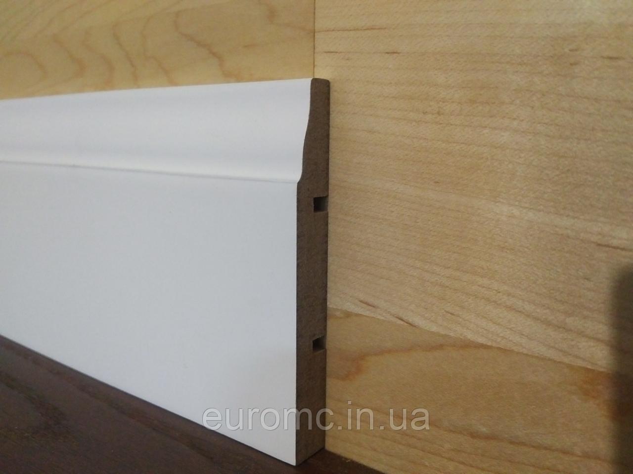 Плинтус МДФ 16х70мм крашенный эмаль