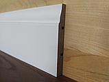 Плинтус МДФ белый 16х80х2700мм, фото 2