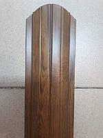 """Металевий євроштахетник """"Під дерево"""" ширина 10,5см (товщина 0,45мм), фото 1"""