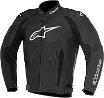 Мотокуртка Alpinestars GP PLUS R V2 Airflow черная кожа, 50