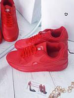 Красные кроссовки женские  реплика Nike Air Max