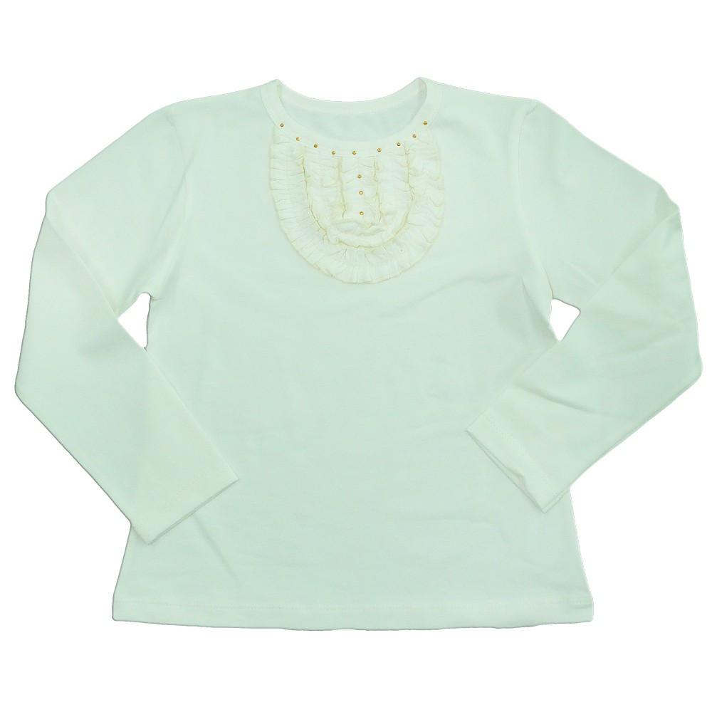 Школьная блуза для девочки Жабо