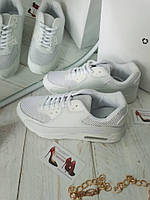 Женские кроссовки белые копия  Nike