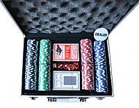 Покерный набор на 200 фишек для 4-х человек