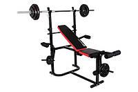 Набор 56 кг со скамьей Strong HS