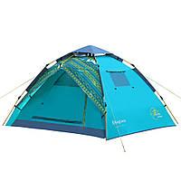 Туристическая/кемпинговая палатка трехместная King Camp Florance Fantasy, двухслойная 3-местная