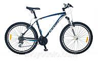 Велосипед горный LEON HT 75 (черно-синий)