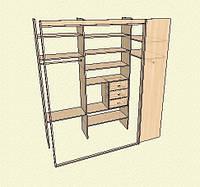 Мебель-шкафы для прихожей изготовление