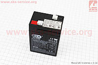Аккумулятор OT4,5-6 - 6V4,5Ah (L70*W48*H100,mm) для ИБП и игрушек