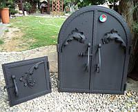 Комплект стальных дверей под размер