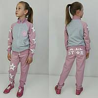 """Стильный костюм для девочки """"All star"""" р.104-152см"""