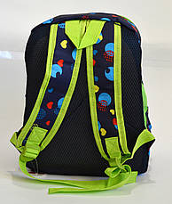Детский рюкзак для мальчика синий, фото 3