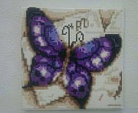 Картина алмазной техники Бабочка