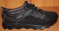 Кроссовки мужские черные летние сетка, мужские кроссовки сетка от производителя модель И200Ч